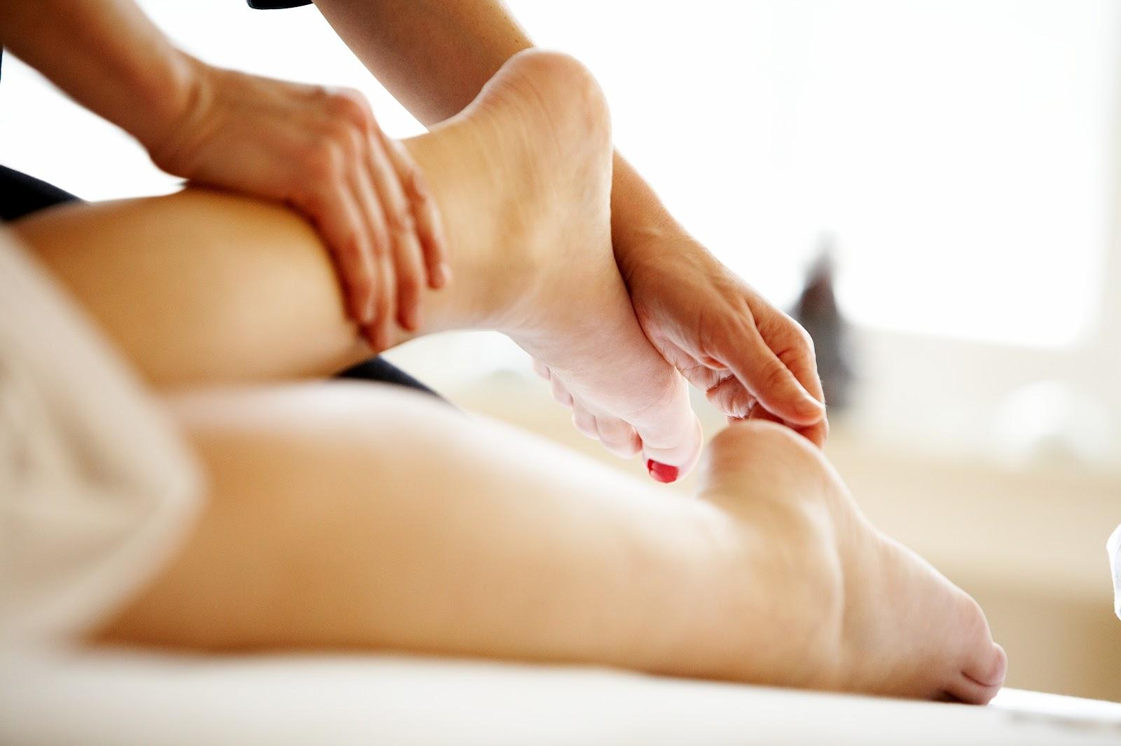 Massaggio Gambe</br>Pre-Parto
